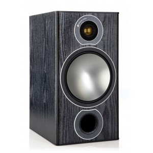 MONITOR AUDIO BROZNE 2 BLACK OAK VINYL